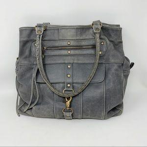 Aaneta Distressed Genuine Leather Tote Bag